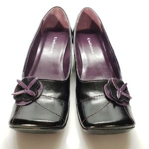 Unlisted Comfort Heels Flower Detail, Size 8.5